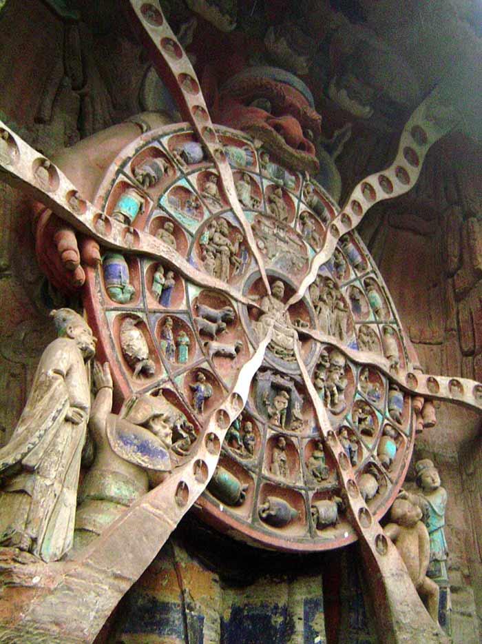 Dazu Wheel of Reincarnation